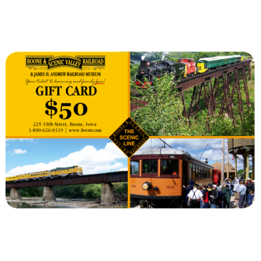 BSVRR Gift Card $50