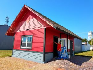 Napier Depot gets a facelift