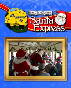 All Santa Express trains sold out