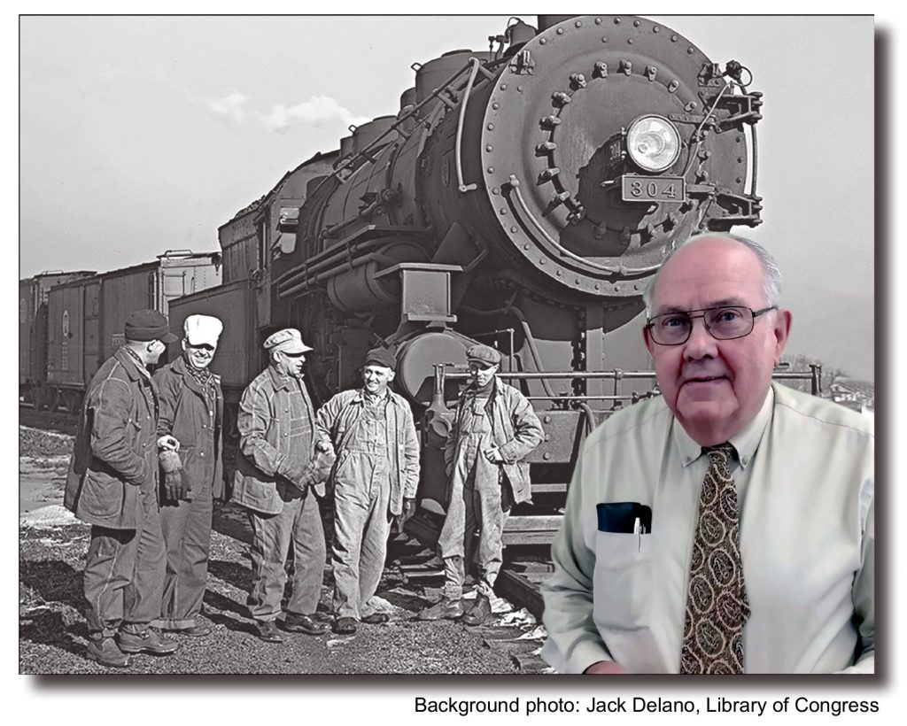 """Hofsommer to present """"Railroaders"""" at the James H. Andrew Railroad Museum"""