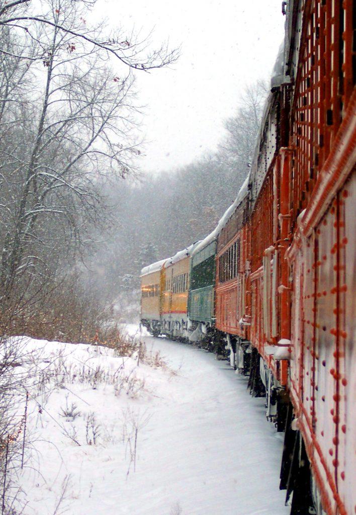 11/29/19 Santa Express operating as scheduled