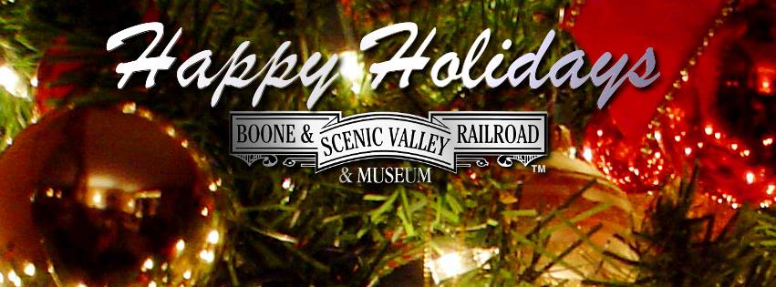 B&SVRR Holiday Hours