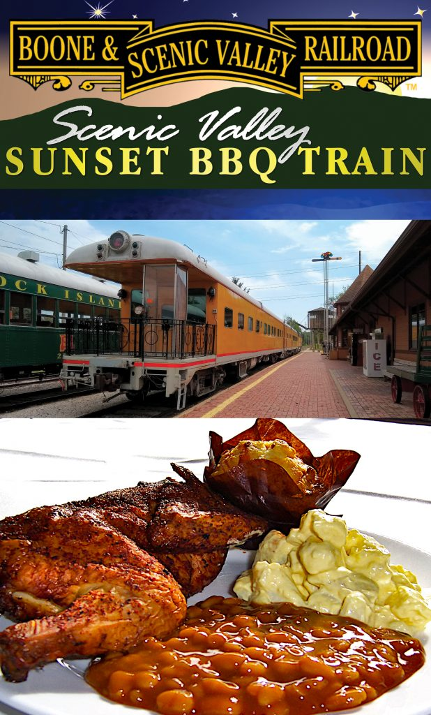 Sunset BBQ Dinner Trains are almost here!