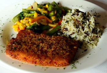 Honey/Chipotle Salmon