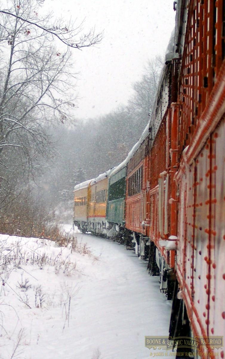 Santa Express Trains Boone Scenic Valley Railroad James H